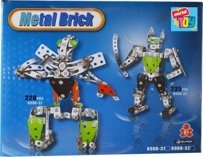 Mera Toy Shop metal diy robot play set(Multicolor)