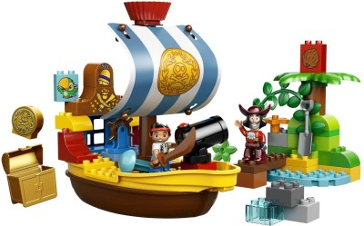 Lego Duplo - Jake's Pirate Ship Bucky