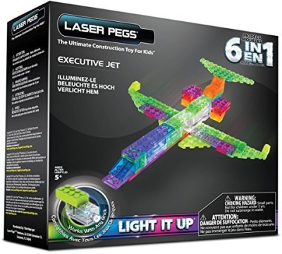 Laser Pegs 6In1 Plane Building Set