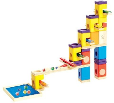 Hape Quadrilla - Music Motion - Marble Railway In Wood