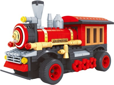 Funblox R/C Train Fire Engine