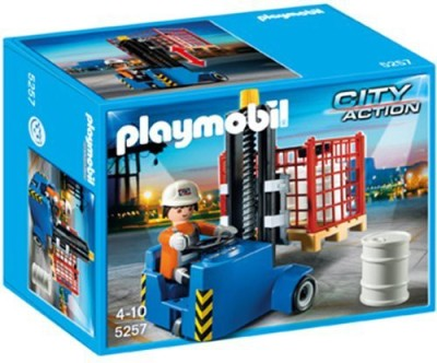 PLAYMOBIL Forklift Playset