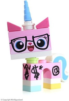 Lego The Movie Loose Mini Biznis Kitty [Wearing Glasses & Suit](Multicolor)