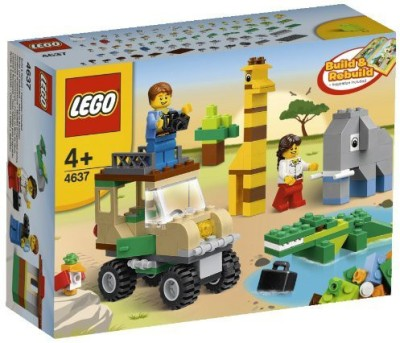 Lgp Lego Bricks & More 4637 Safari Building Set