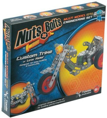 Nuts & Bolts Series 2Custom Trike And Low Rider(Multicolor)