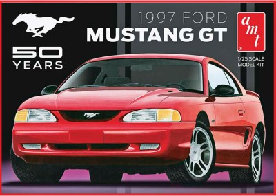 AMT USA 1/25 Scale 1997 Ford Mustang GT Plastic Model Kit(Multicolor)