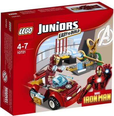 Lego Iron Man vs Loki