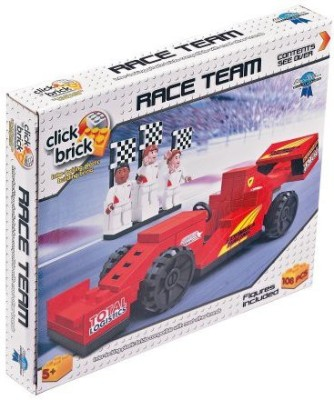 Click Bricks Race Team Building Set
