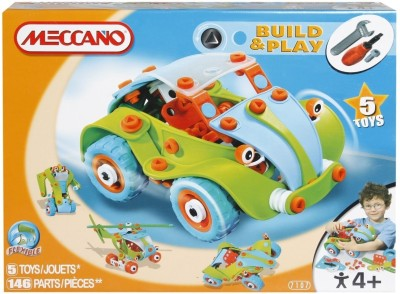 Meccano Build and Play Buggy Car