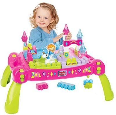 Mega Bloks First Builders Play ,N Go Fairytale Table