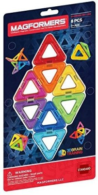 Magformers Triangles Eight Piece Set