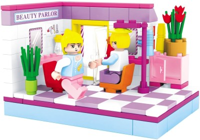Funblox Princes Bricks Blocks Beauty Parlor