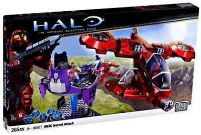 Mega Brands Halo Wars Mega Bloks Set 96867 Hornet Attack