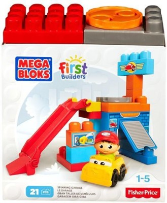 MEGA BLOCKS First Builders Mechanic Shop Garage