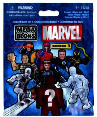 Mega Brands Marvel Mega Bloks Series 3 Mini Mystery Pack 1 Random Mini