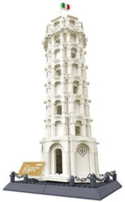 FireBeast Leaning Tower Of Pisa Italy Building1392 Pcs Setcompatible