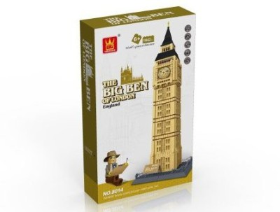 FireBeast The Big Ben Of London Building1642Pcs Setcompatible