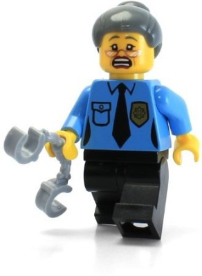 LEGO the Movie Loose Mini Ma Cop(Blue)