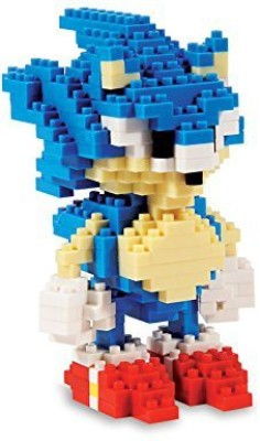 Paladone Products Sonic Pixel Bricks