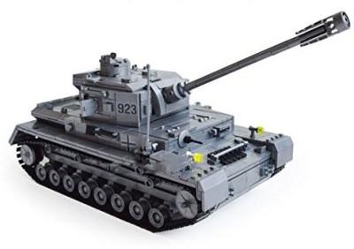 KAZI Blocks Kazi Building Century Military Panzerkampfwagen Tank Heer(Grey)