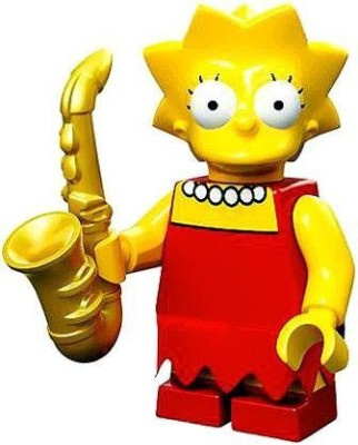The Simpsons Lego 71005 The Simpson Series Lisa Simpson Character Minis