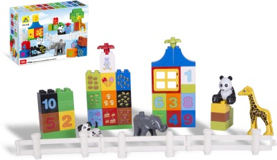 Toys Bhoomi Numerical Learning Building Block Set - 42 Pieces