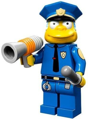 The Simpsons Lego 71005 Series Chief Wiggum Collectible Minis