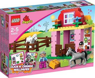 Duplo LEGO Town Horse Stable