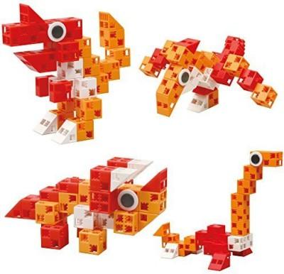 Click-A-Brick Dino Pals 30Pc Educationalbuilding Set Best Gift For Boys