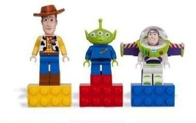 Disney Lego Story Magnets Set Of 3 Woodyalienbuzz