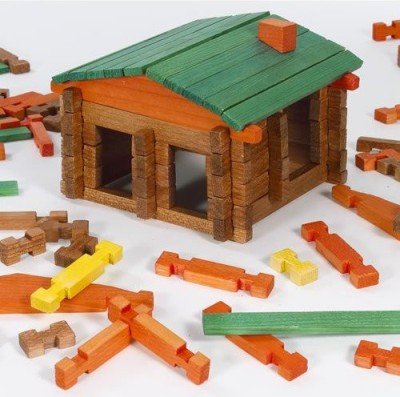 Channel Craft Deluxe Log Building Set