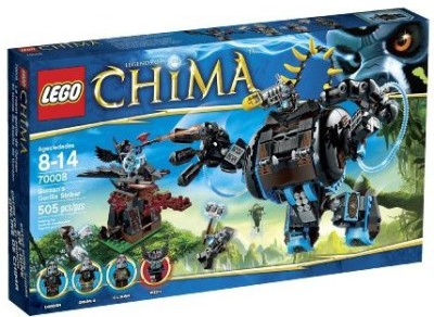 LEGO Chima Legolegends Of Chimagorzan,S Gorilla Striker (70008)