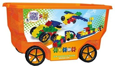Clics S Rollerbox 400Piece