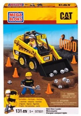 Mega Bloks Mega Bloks Caterpillar Skid-Steer Loader