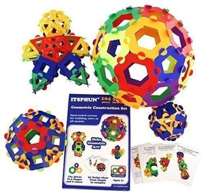 ITSPHUN Geometric Construction Kit Polygons