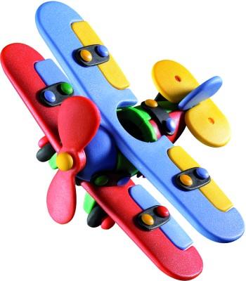 Mic O Mic Small Bi-Plane - Construction Toy