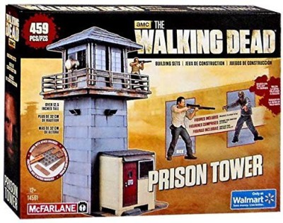 Walking Dead Mcfarlanethe Amc Tv Series Prison Tower Exclusive Building