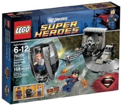 WE-R-KIDS Play Lego Superheroes 76009 Superman Black Zero Escape