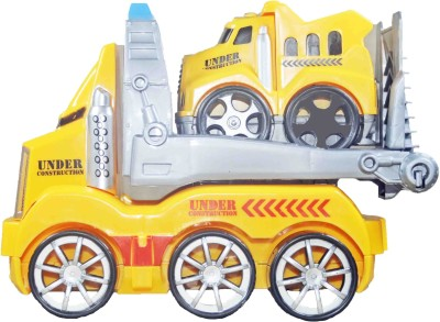 Babysid Collections Multiactivity Friction Truck (Fully dismantle & build type)With Music & light (18cm X8cm X14)