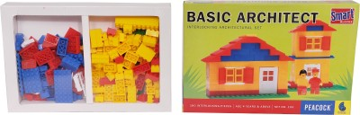 Basic Architect Kids Hobby Educational Game - Little Builder Blocks