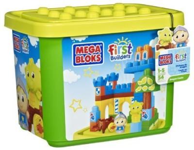 Mega Bloks First Builders Dragon Castle (Tub)