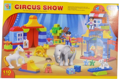 Mera Toy Shop Circus Show 110 pcs