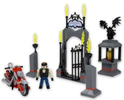 The Bridge Direct Wwe Stackdown Undertaker Entrance Set With Motorcycle