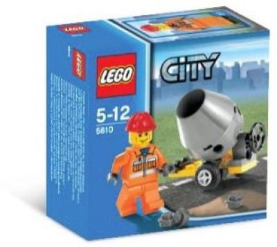 Lego City Builder Set 5610 Hard Hat Construction Worker