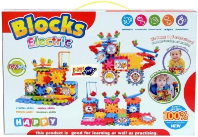 Planet of Toys Blocks Electric 162 pcs