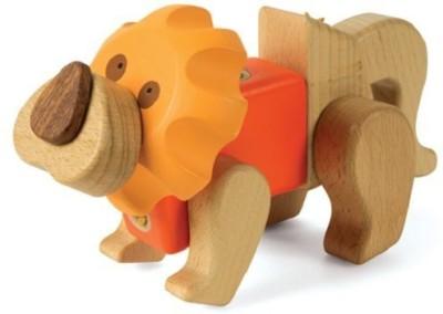 Smart Gear Click ,N Play Lion Building Set