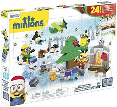 Mega Bloks Minions Movie Advent Calendar(Multicolor)