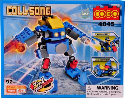 Mera Toy Shop Robot Construction Set -4845