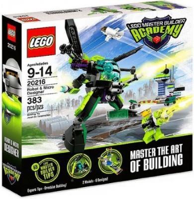 Lego Master Builder Academy Set 20216 Robot & Micro Designer