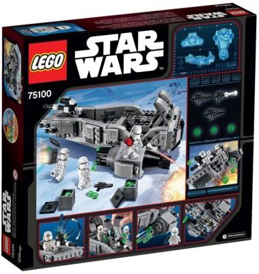 Lego Starwars 75100 - First Order Snowspeeder